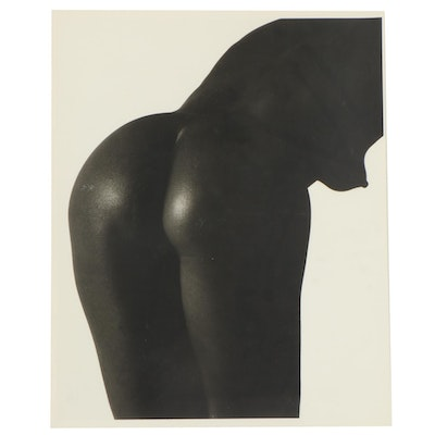 Don Jim Silver Gelatin Photograph of Female Nude, Late 20th Century