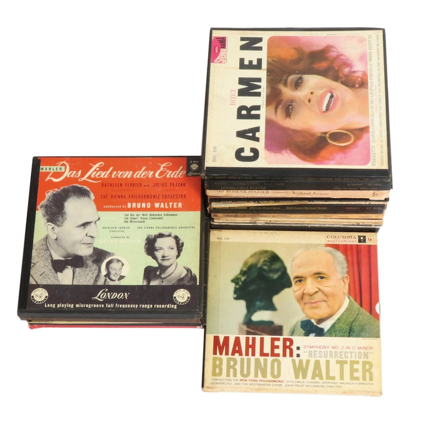 Verdi, Bach, Mahler and Other Opera and Classical Vinyl Records