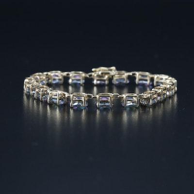 14K Mystic Topaz Bracelet
