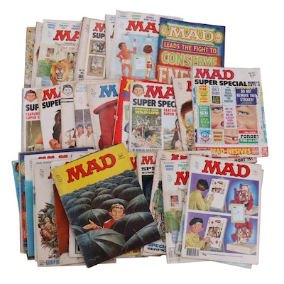 """""""MAD"""" Magazine Collection Featuring the Bicentennial and More, 1970s–1980s"""
