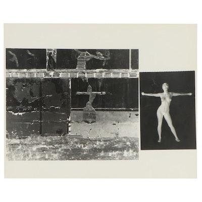 "Don Jim Silver Gelatin Photograph and Photo Negative ""Sassy,"" Late 20th Century"