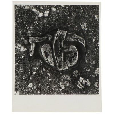 "Don Jim Silver Gelatin Photograph ""Knot,"" Late 20th Century"