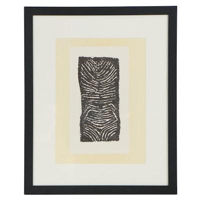 """Raoul Ubac Lithograph for """"Derrière le Miroir,"""" 1971"""