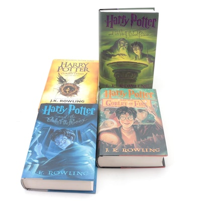 """First American Edition """"Harry Potter"""" Partial Series with """"The Cursed Child"""""""