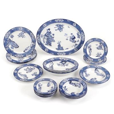 "Wood & Sons ""Tsing"" Ceramic Dinnerware, Early 20th Century"
