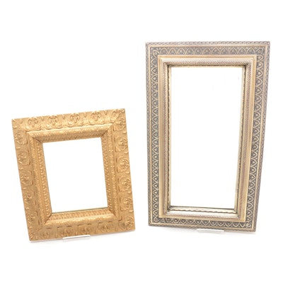 Bombay Company and Other Rocco Style Gilt Framed Mirrors