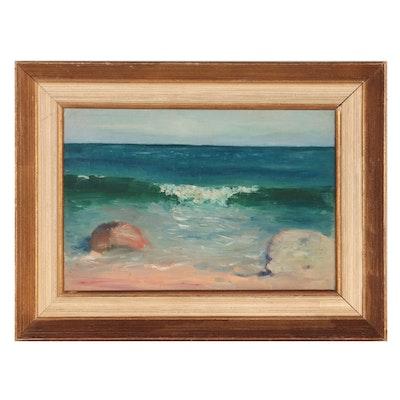 Eloise McWilliams Seascape Oil Painting