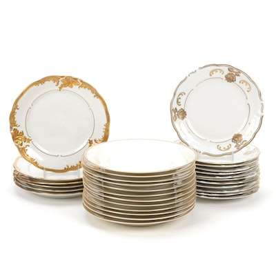 Walbrzych and Edelstein Bread and Butter Plates