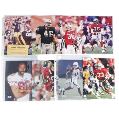 Jerry Rice, Terry Bradshaw, Kurt Warner, Roger Craig, More NFL Photo Prints, COA