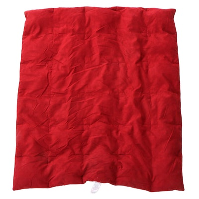 Suede Micro FIber and Natural Down Indoor or Outdoor Throw