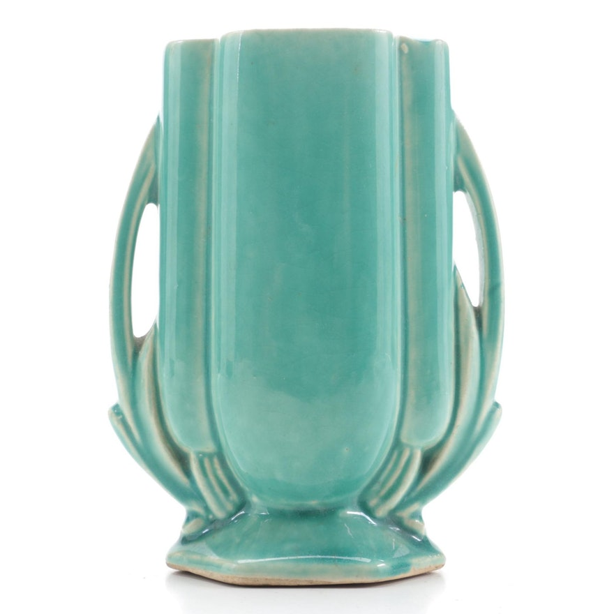 American Art Pottery Vase, Mid to Late 20th Century