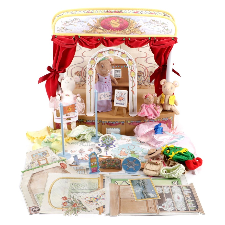 American Girl Angelina Ballerina Stage, Dolls, Books, and Accessories