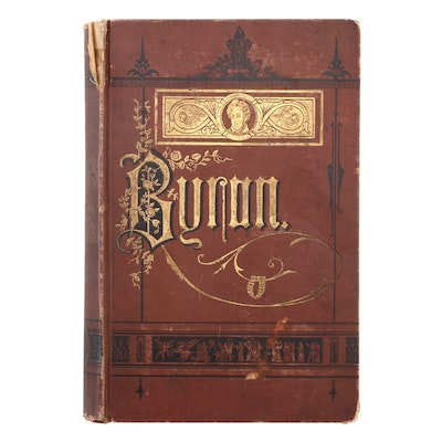 """""""The Poetical Works of Lord Byron,"""" Late 19th Century"""