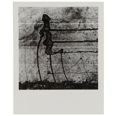"Don Jim Silver Gelatin Photograph ""Marching,"" Circa 1970"