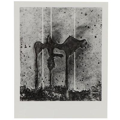 """Don Jim Silver Gelatin Photograph """"Erect,"""" Circa 1970"""