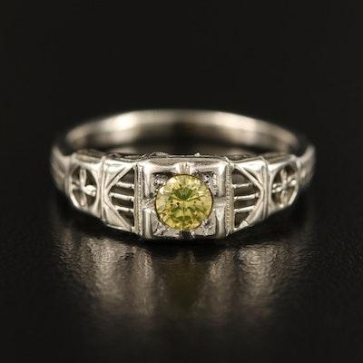 14K and 10K Diamond Ring