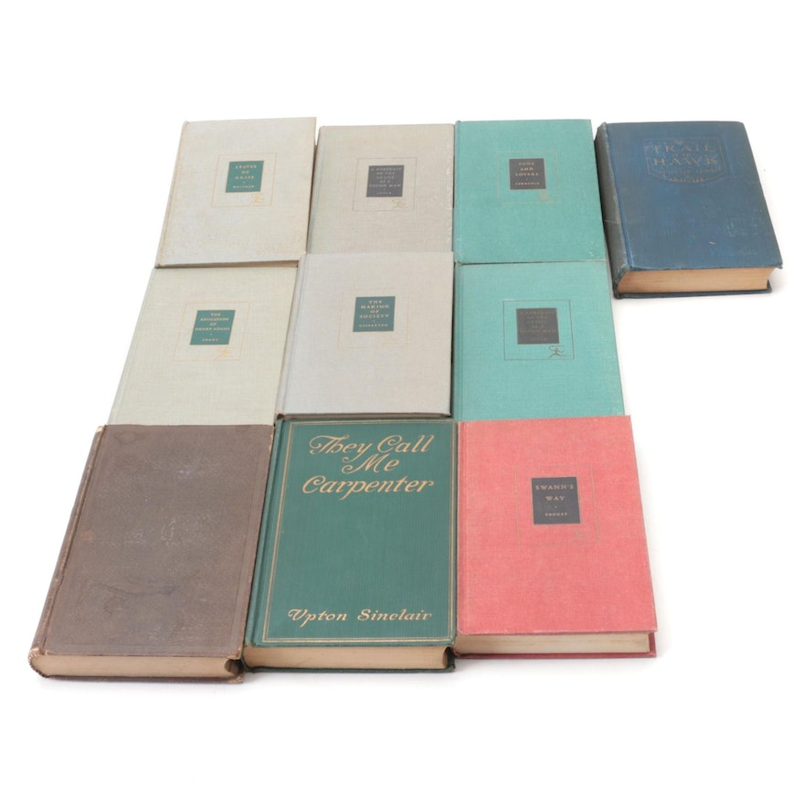 """First Edition """"They Call Me Carpenter"""" by Upton Sinclair and More Classics"""