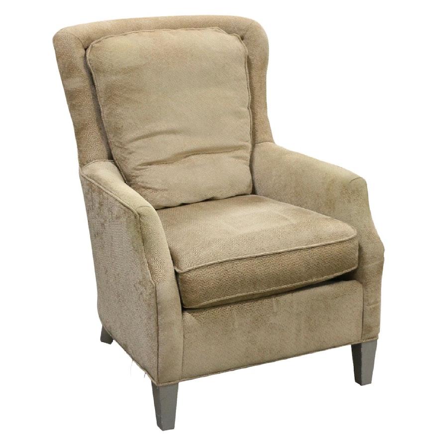 Bassett Upholstered Armchair, Contemporary
