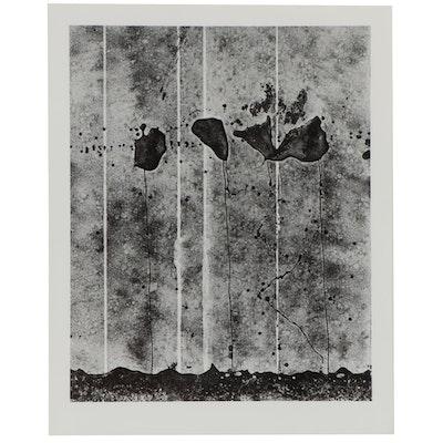 "Don Jim Silver Gelatin Photograph ""Messages,"" Circa 1970"