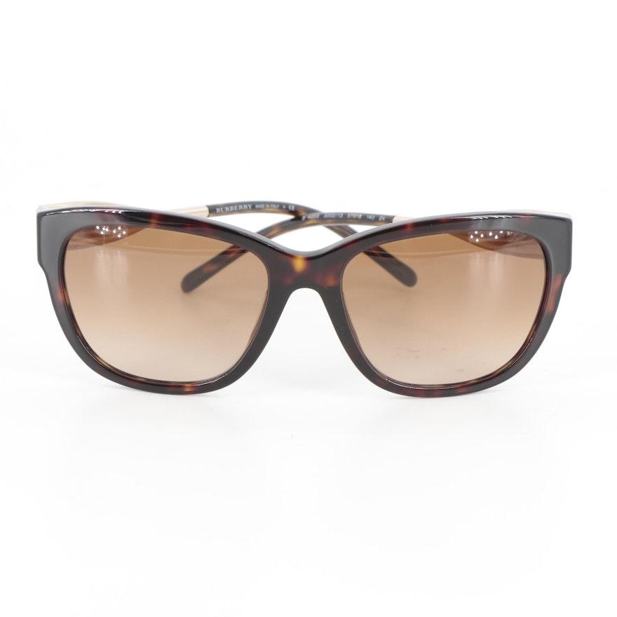Burberry B 4203 Square Havana Sunglasses