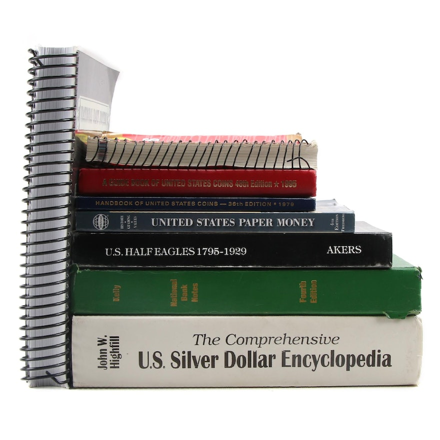 """""""The U.S. Silver Dollar Encyclopedia"""" and More Coin Collecting Reference Books"""