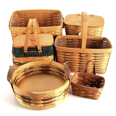 Longaberger and Peterboro Assorted Basket Collection