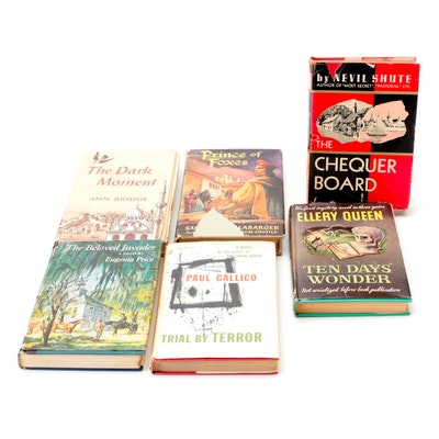 """""""Trial by Terror,"""" """"Chequer Board,"""" and More Novels, Mid-20th Century"""