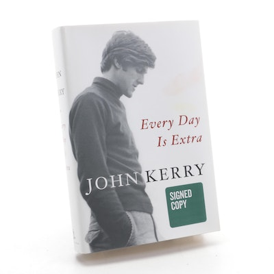 """Signed First Edition """"Every Day is Extra"""" by John Kerry, 2018"""