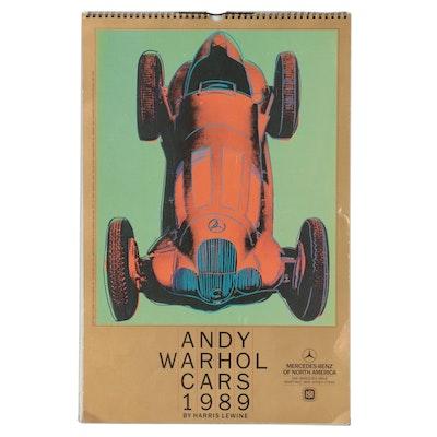 "Mercedes-Benz ""Andy Warhol Cars 1989"" Calendar by Harris Lewine"