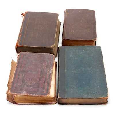 """""""Psalms of David,"""" """"The Christian Lyre,"""" and More Religious Books, 19th Century"""