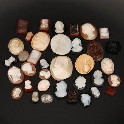 Loose Cameo and Intaglio Gemstones