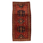 4'9 x 10'1 Hand-Knotted Northwest Persian Rug, 1960s