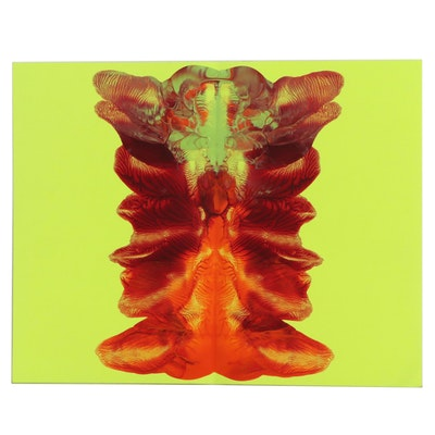 Quisqueya Henriquez Acrylic Painting, 21st Century
