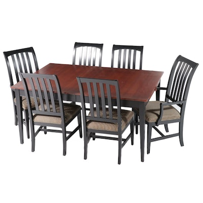 """Ethan Allen """"American Impressions"""" Seven-Piece Dining Set"""