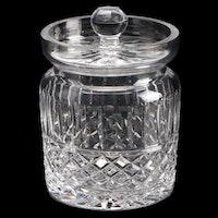 """Waterford """"Maeve"""" Crystal Biscuit Jar"""