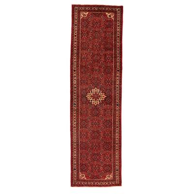 2'7 x 10' Hand-Knotted Persian Nahavand Runner, 1980s