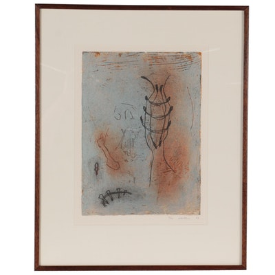 """Susan Laufer Mixed Media Print From """"Transformation Series I"""""""