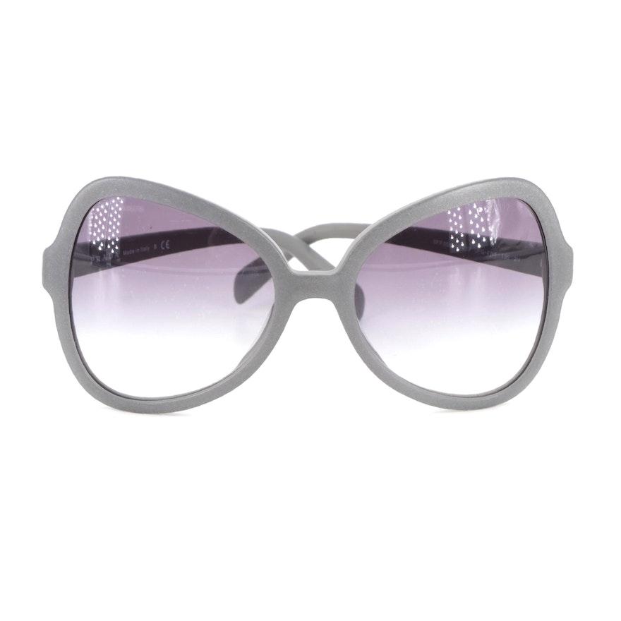 Prada SPR05S Gradient Butterfly Sunglasses
