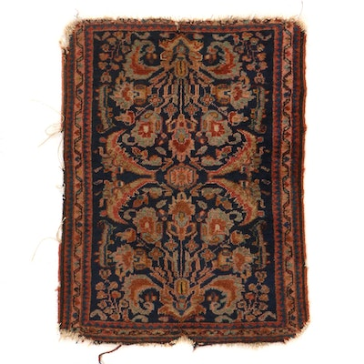 2'1 x 2'9 Hand-Knotted Persian Malayer Accent Rug