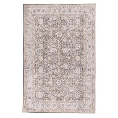 4'11 x 7'5 Machine-Made Indo-Persian Mahal Printed Rug, 2010s