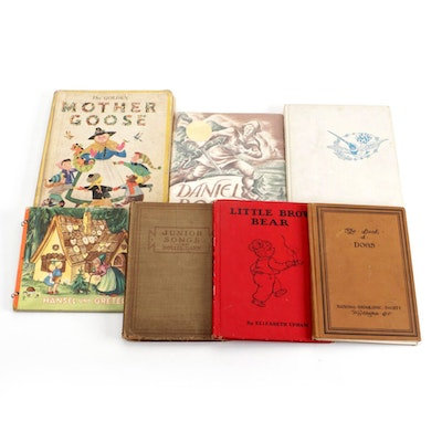 """""""The Golden Mother Goose"""" and More Children's Books, Early to Mid-20th Century"""
