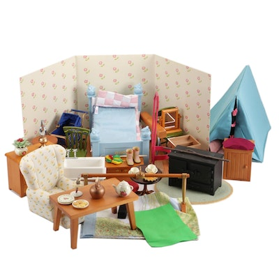 American Girl Furniture, Accessories Including Sofa, Boots, Mirror and More