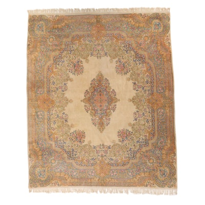 11'11 x 15' Hand-Knotted Persian Kashmar Room Sized Rug