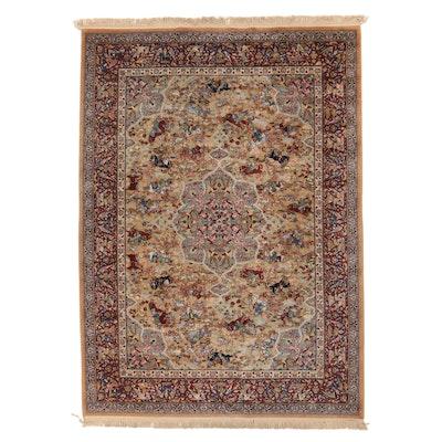 "8'9 x 12'8 Machine Made Karastan ""Persian Hunting Rug"" Pictorial Room Sized Rug"