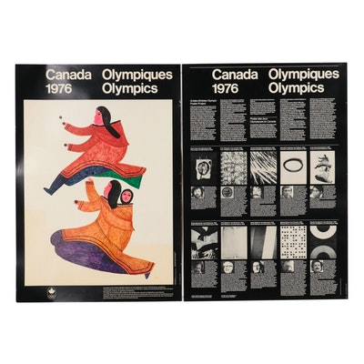 Canadian Olympics Offset Lithograph Posters, 1976