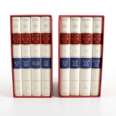 """Complete """"The Decline and Fall of the Roman Empire"""" Set by Edward Gibbon, 2004"""
