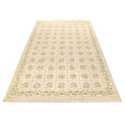 11'8 x 20' Hand-Knotted French Style Floral Room Sized Rug