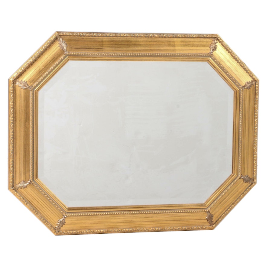 """The Bombay Company """"Allegro"""" Giltwood and Composition Mirror"""