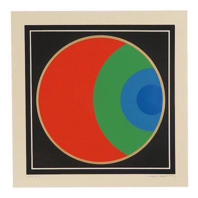Thomas Whelan Benton Serigraph, 1970