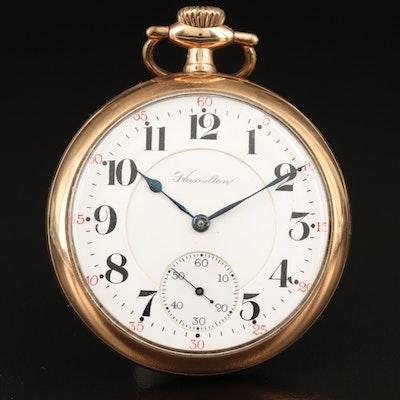 1907 Hamilton Railroad Grade Pocket Watch